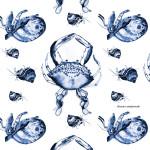 crab toile